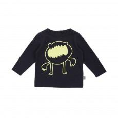 T-shirt Monstre phosphorescentGeorgie Bleu nuit