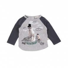 T-shirt Cheval Max Gris