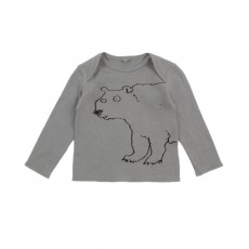 T-shirt Ours Buster Gris