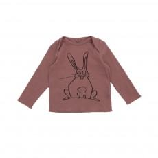 T-shirt Lapin Buster Vieux Rose