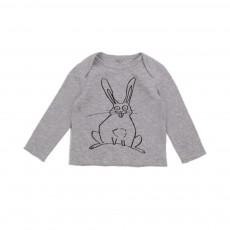 T-shirt Lapin Buster Gris