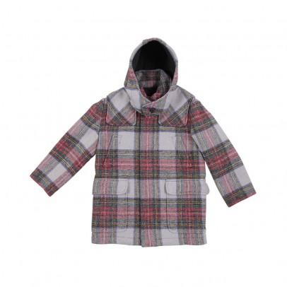manteau tartan ronnie multicolore stella mccartney mode ado gar on smallable. Black Bedroom Furniture Sets. Home Design Ideas