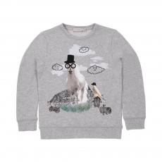 Sweat Cheval Billy Gris