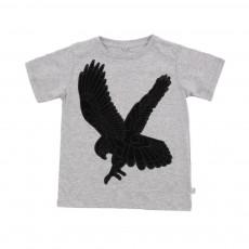 T-shirt Aigle Arlo Gris clair