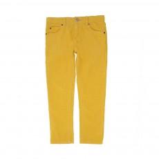 Pantalon Slim Velours Pedro Ocre