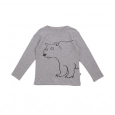 T-shirt Ours Barley  Gris clair