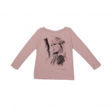 T-shirt Brigitte Bardot Rose pâle