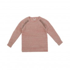 Pull Chiné Rose pâle