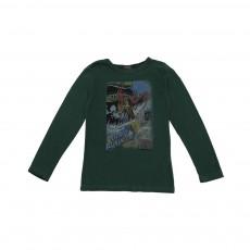 T-shirt Viking Vert