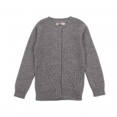 Cardigan Long Roberts Gris chiné