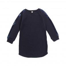 Robe Sweat Paillettes Suel Bleu nuit
