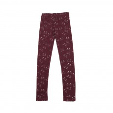 Legging Miaou Bordeaux