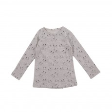 T-shirt Miaou Gris clair