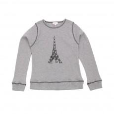 T-shirt Eiffel Gris clair