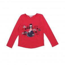 T-shirt Champignons Rouge