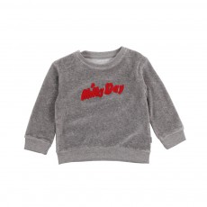 Sweat Milky Day Gris chiné
