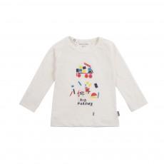 T-shirt Kid Forever  Blanc