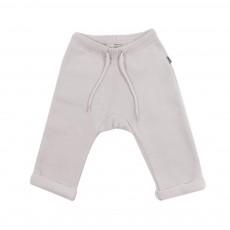 Pantalon Jersey Crème