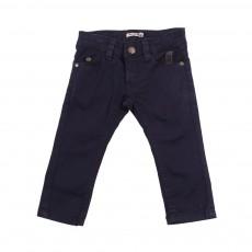 Pantalon slim Bleu nuit