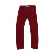 Pantalon Super Slim Bordeaux