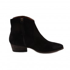 Bottines Suede Fiona Noir