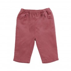 Pantalon Velours Ecandy Rose