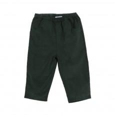 Pantalon Velours Ecandy Vert sapin