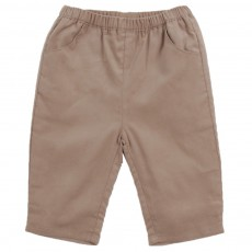 Pantalon Velours Ecandy Beige