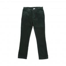 Pantalon Velours Slimo Vert sapin