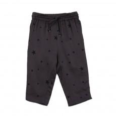 Pantalon Etoiles Valentino Gris