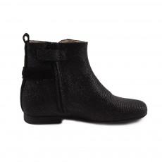 Boots Zippées Denise Noir