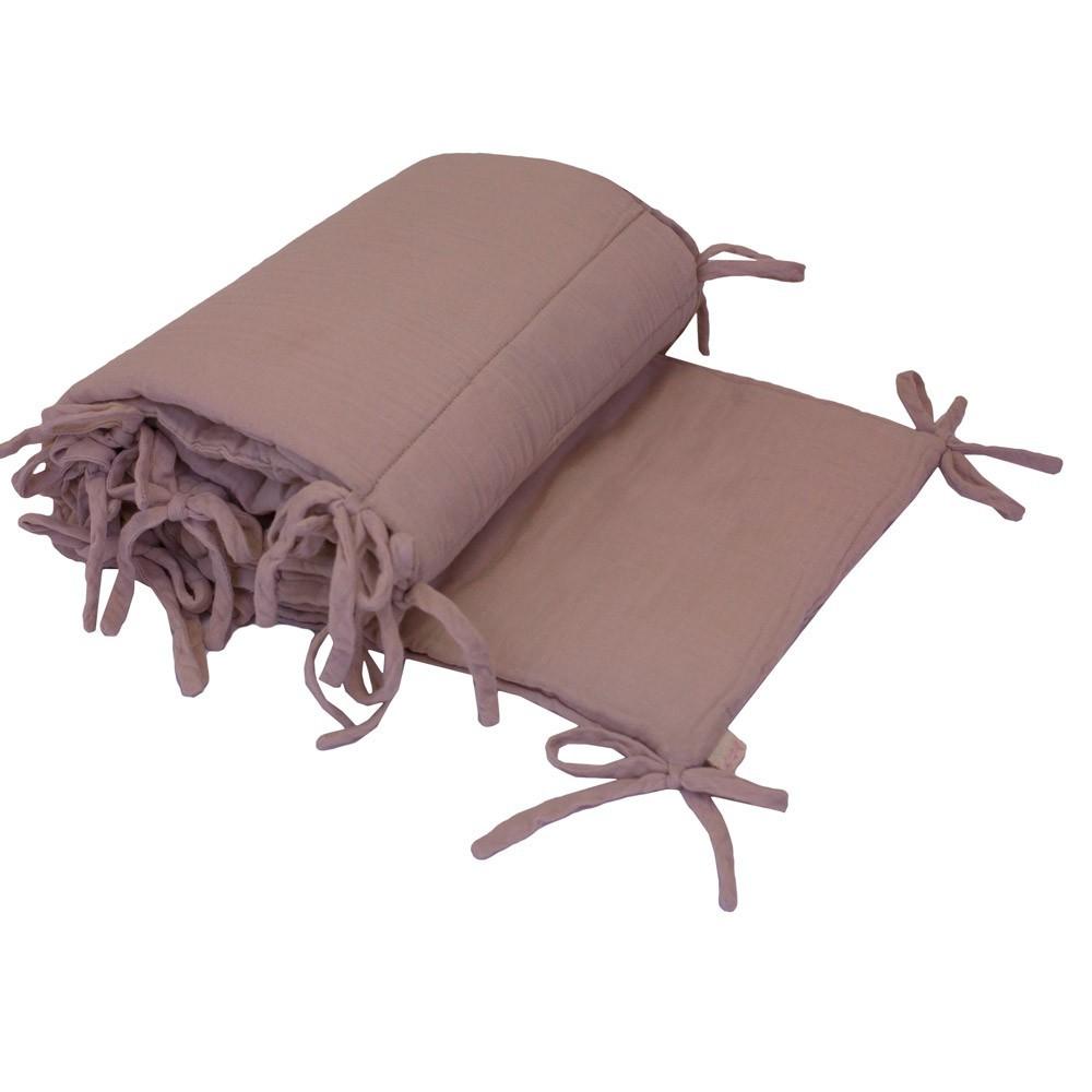 tour de lit vieux rose numero 74 univers b b smallable. Black Bedroom Furniture Sets. Home Design Ideas