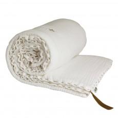 Couverture ouatinée - Blanc