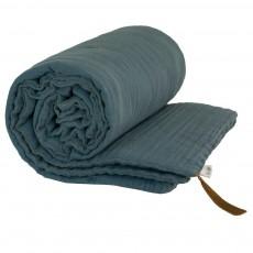 Couverture ouatinée - Bleu gris