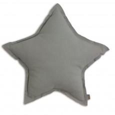 Coussin étoile - Gris