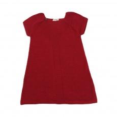 Robe Rétro Rouge cerise