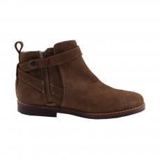Boots Suede New Holly Marron
