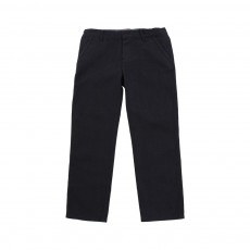 Pantalon Toile Bleu marine