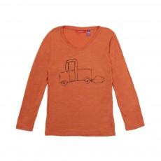 T-shirt Voiture Orange