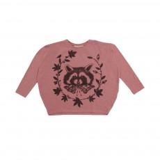 T-shirt Boule Raton Laveur Vieux Rose