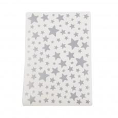 Stickers - Planche d'étoiles Argenté Lilipinso x Smallable