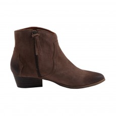 Bottines Suede Fiona Taupe