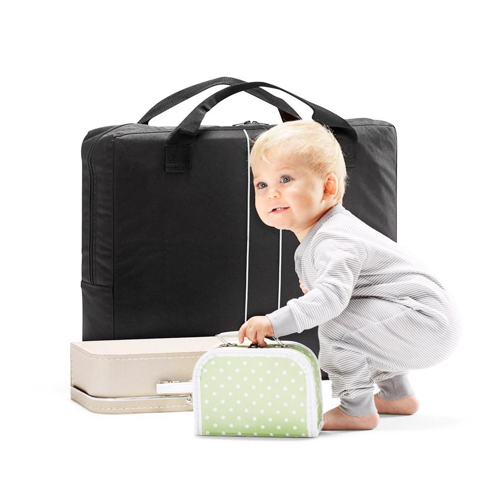 lit parapluie light noir babybj rn mobilier smallable. Black Bedroom Furniture Sets. Home Design Ideas