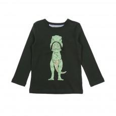 T-shirt T.Rex Zipper Vert sapin