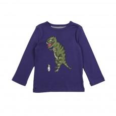 Exclusivité - T-shirt Dino Brace Bleu indigo