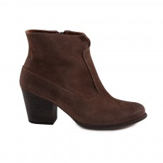 Bottines Suede Claudia  Taupe