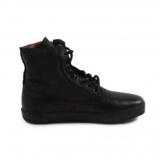 Baskets Montantes Zippées Noir
