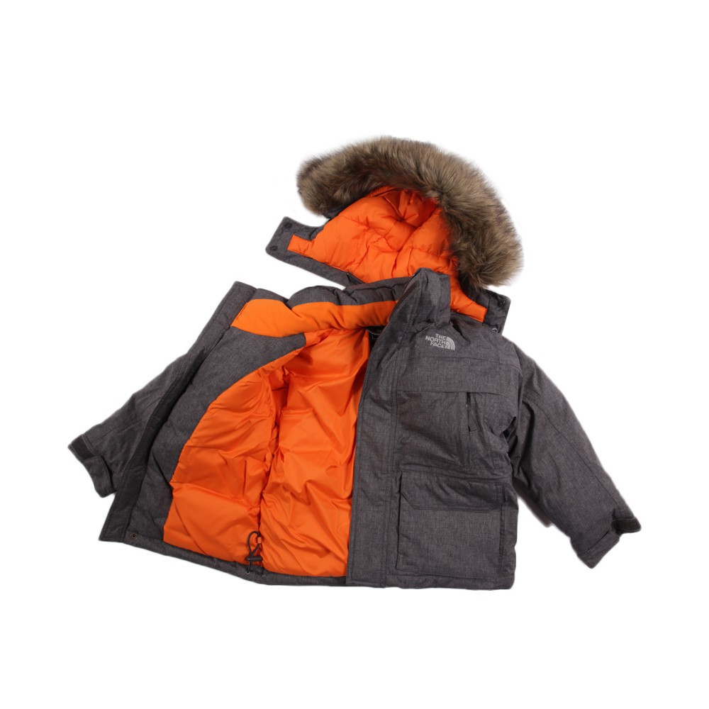 parka capuche fa on fourrure mcmurdo gris the north face mode ado gar on smallable. Black Bedroom Furniture Sets. Home Design Ideas