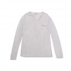 T-shirt Angel Gris clair