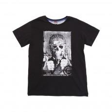 T-shirt Tête de Mort Noir
